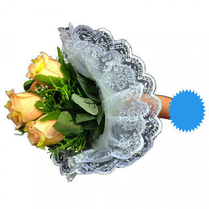 Bouquet sposa sexy per addio al nubilato arancione