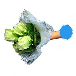 Bouquet sposa sexy per addio al nubilato bianco