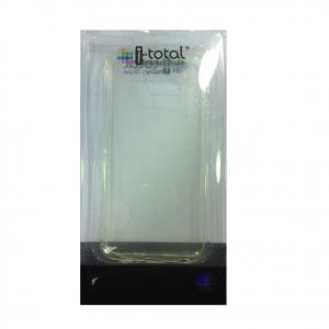COVER mascherina SAMSUNG GALAXY S6 trasparente in silicone TPU I-TOTAL
