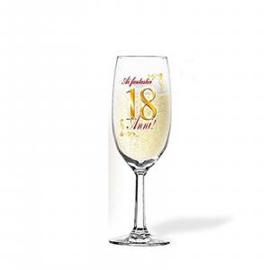 18 ANNI flute per brindisi per COMPLEANNO party