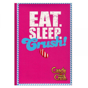 Diario CANDY CRUSH FUCSIA 11,5X16 cm