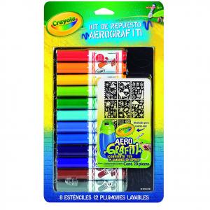 Ricarica Color Spray - BOY+stencil Set ricarica da utilizzare con l'aerografo