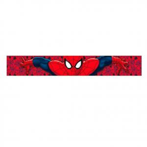 SPIDERMAN UOMO RAGNO sciarpa in morbida rossa taglia unica da bambino