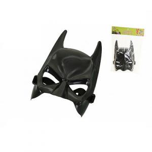 Maschera a pipistrello in plastica dura nera halloween party e feste da adulto