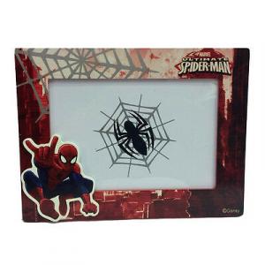 SPIDERMAN UOMO RAGNO cornice rettangolare rossa 18,5x14 cm da bambino