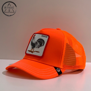 Goorin Bros - Animal Farm Truckers - Cock, arancio fluo.