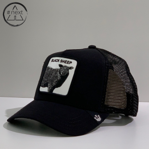 Goorin Bros - Animal Farm Truckers - Black Sheep 2, nero