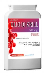 Olio di Krill Antartico Purissimo 60 opercoli da 500mg