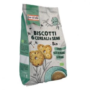 Biscotti ai 6 cereali e semi