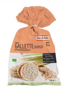 Gallette di riso integrale granfragranza