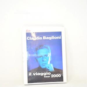Cd Musica Il Viaggio Tour Claudio Baglioni 2000