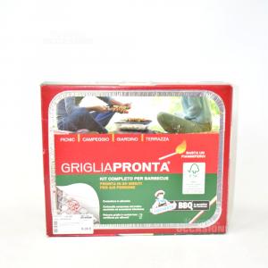 Kit Completo Per Barbecue Grigiapronta