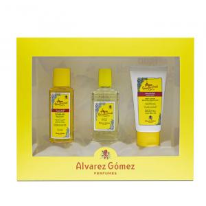 Alvarez Gómez Eau De Cologne Spray 80ml Set 3 Parti 2020