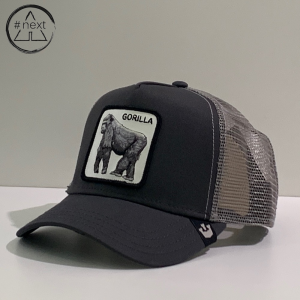 Goorin Bros - Animal Farm Truckers - Gorilla, grigio.