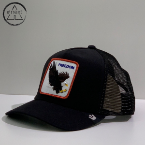 Goorin Bros - Animal Farm Truckers - Freedom, nero.