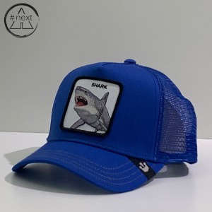 Goorin Bros - Animal Farm Truckers - Shark, bluette.