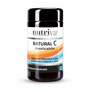 Nutriva Natural C Masticabile 60 Compresse