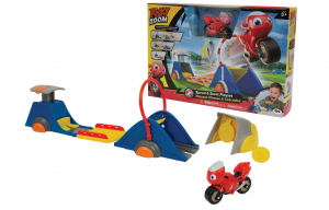 RICKY ZOOM PLAYSET SUPER STUNT