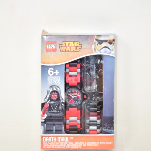 Orologio Bambini Lego Star Wars Darth Maul Watch con Minfigure 8020332