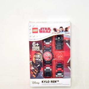 Orologi LEGO Star Wars 8020998 da polso componibile per bambini Kylo Ren watch