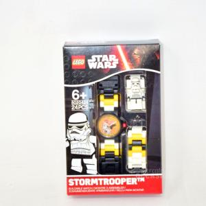 Orologio LEGO OROLOGIO DA POLSO BAMBINO STAR WARS STORMTROOPER MINIFIG LINK WATCH