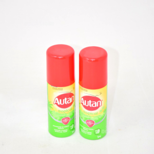 AUTAN TROPICAL SPRAY ANTIPUNTURA REPELLENTE 50 ML 2 Pezzi