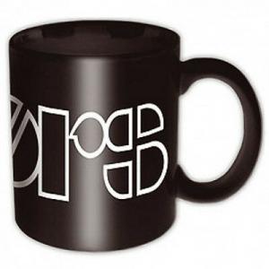 Tazza in ceramica The Doors logo. Prodotto ufficiale. Misura 12 x 10 cm
