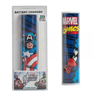 POWER BANK capitan america 2600mAh MARVEL