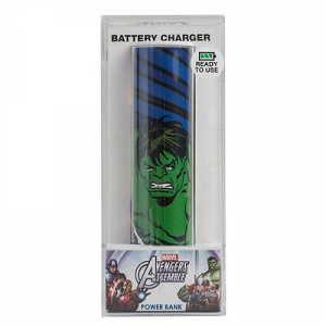 POWER BANK hulk 2600mAh MARVEL