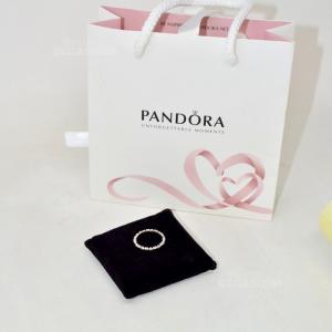 Anello Pandora In Argento Cuoricini