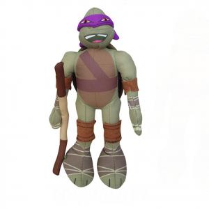 TARTARUGHE NINJA peluches Donatello bandana viola circa 20 cm