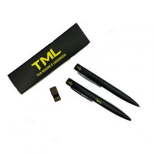 TML Penna a sfera + USB 8 GB CON SCATOLINA REGALO