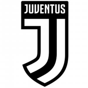 spilletta JUVENTUS crest metallo smaltato sagomato logo JJ  cm 2x1