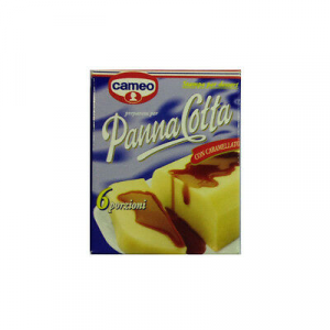 Calamita frigo miniatura PANNA COTTA CAMEO riproduzione fedele