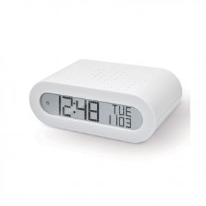OREGON SCIENTIFIC sveglia bianca con radio FM integrata display LCD retroillumin