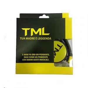 Cuffie TML TUA MADRE E' LEGGENDA cavo 1.20m spinotto 3.5 mm