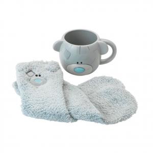 Tazza mug rotonda TINY TATTY TEDDY + 1 paio di calzini da notte taglia unica