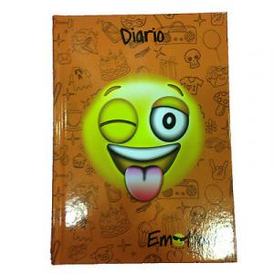 EMOTIONS diario faccine arancione 11,5x15,5 cm