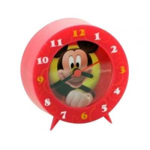 TOPOLINO MICKEYMOUSE CLUB HOUSE sveglia rossa in plastica 8x8 cm da bambino