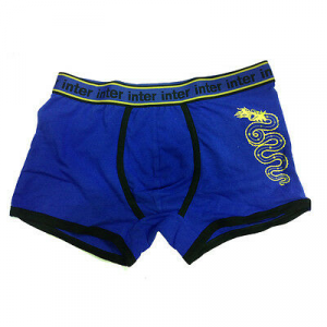 INTER boxer uomo blu royal in cotone varie taglie underwear prodotto ufficiale