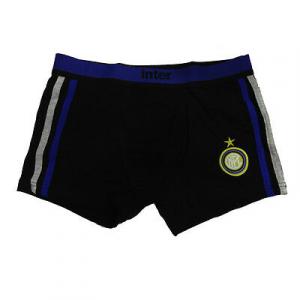 INTER boxer uomo nero  in cotone varie taglie underwear prodotto ufficiale