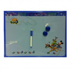TOPOLINO MICKEY MOUSElavagna magnetica con pennarello cancellabile e magnetica