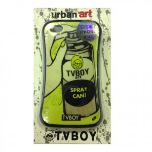 COVER mascherina iphone 4/4s stampa vintage bomboletta spray URBAN ART in silico