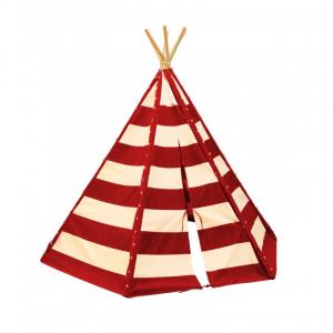 Tenda degli indiani Teepee Sunny Lumo Rosso e Bianco