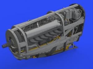 P-51D engine