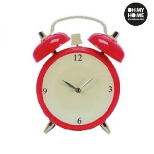 Orologio da Parete in Vetro Sveglia - Colore: Rosso