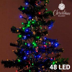 Luci di Natale Multicolor (48 LED)