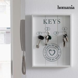 Portachiavi da Parete I Love My Home by Homania