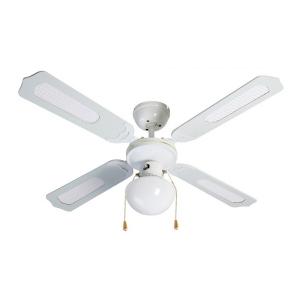Ventilatore da Soffitto con Luce Grupo FM VT-CLASSIC-105B 50W Bianco