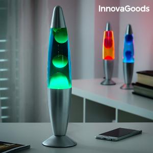 Lampada Lava Magma InnovaGoods - Colore: Verde